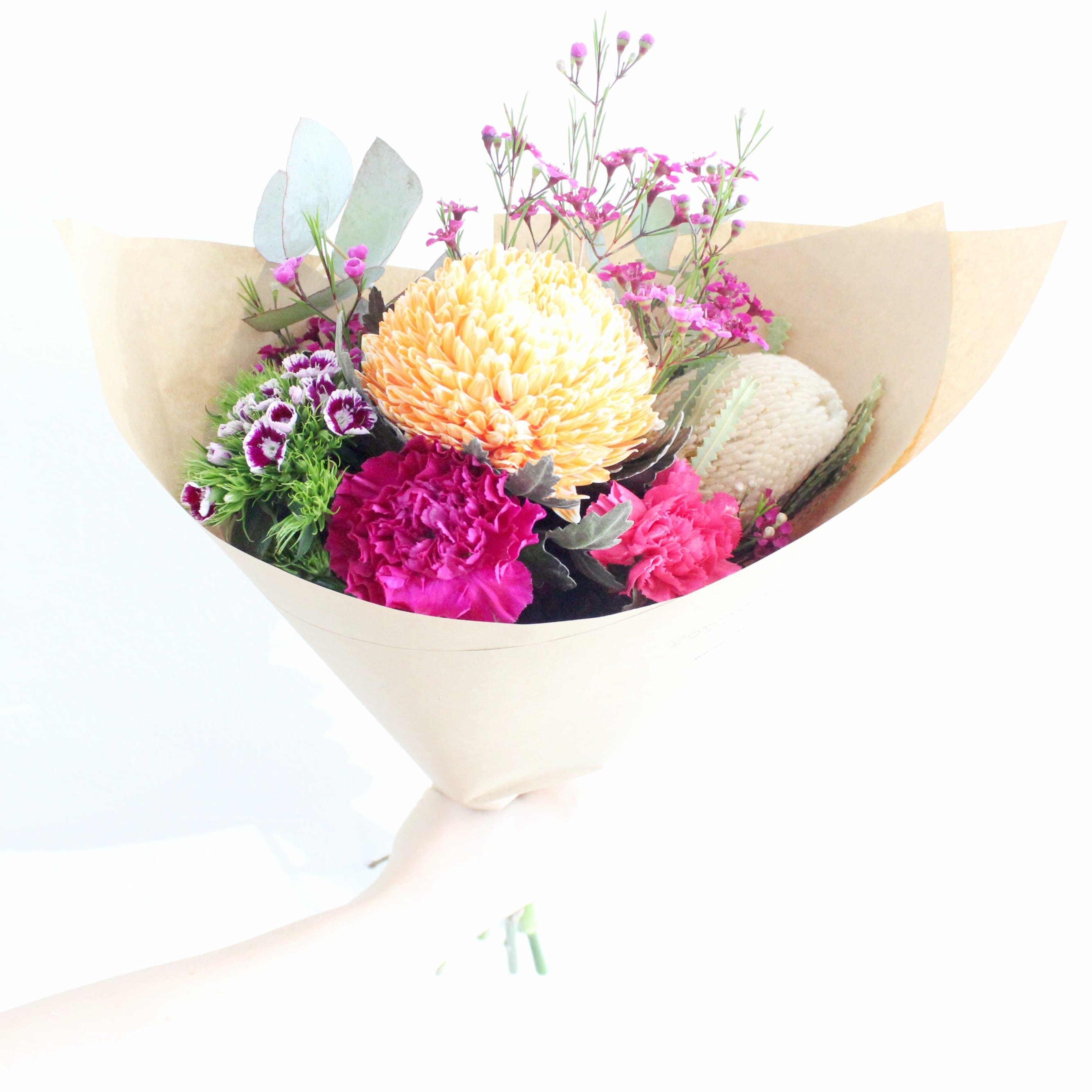 Small poppy rose same day flower delivery in brisbane flowers small izmirmasajfo