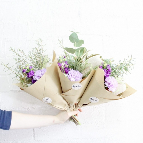 Poppy Rose | Micro bunch | Flower delivery Norman Park | Brisbane