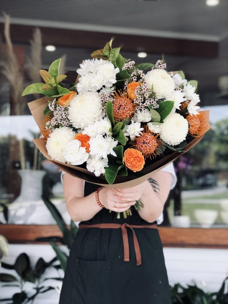 Poppy Rose Same Day Flower Delivery In Brisbane Flowers